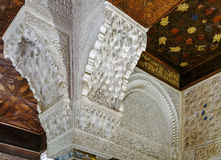 Mexuar Hall in Alhambra palace, Granada, Spain Royalty Free Stock Images
