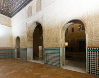 Mexuar Hall at Nasrid Palaces, Alhambra Royalty Free Stock Images