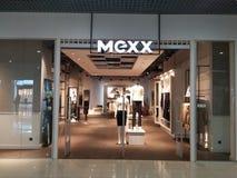 Mexx商店 免版税库存照片