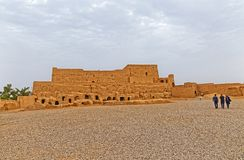 Meybod Narin Castle Iran royalty free stock photography