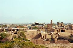 Meybod old town, Iran royalty free stock photos