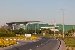 Meydan种族俱乐部在迪拜 免版税库存照片