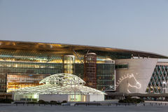 Meydan跑马场在迪拜 免版税库存图片
