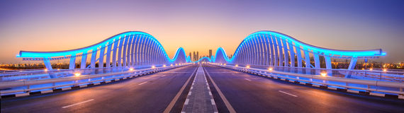 Meydan bridge Royalty Free Stock Photo