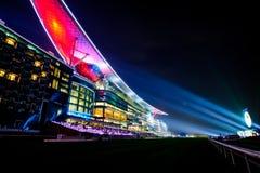 Meydan-Hotel in Dubai, UAE Lizenzfreie Stockfotos