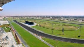 Meydan Racecource。 迪拜,阿拉伯联合酋长国。 免版税库存照片