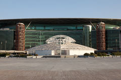 Meydan Racecourse in Dubai Stock Image