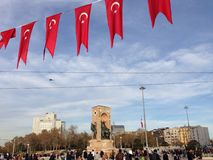 Meydani de Taksim fotografia de stock