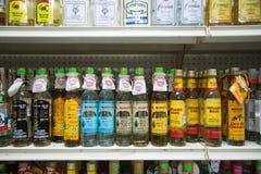 Mezcal i Tequila butelki Obraz Royalty Free