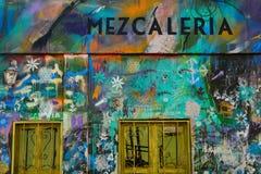 Mezcaleria dans Cholula, Mexique Image stock