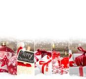 Mezcla abstracta de la Navidad Imágenes de archivo libres de regalías