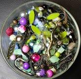 Mezcla de accesorios vivos hermosos Foto de archivo libre de regalías