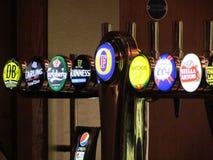 Mezcla de cervezas Foto de archivo libre de regalías