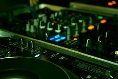 Mezcla de DJ Imágenes de archivo libres de regalías