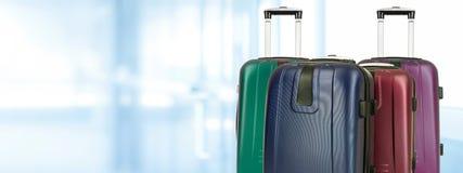 Mezcla de equipajes del viaje Imágenes de archivo libres de regalías