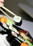 Mezcla de especialidades del sushi Imagen de archivo libre de regalías