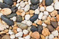 Mezcla de fondo natural de las piedras Fotografía de archivo libre de regalías