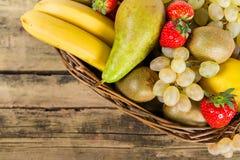 Mezcla de frutas Foto de archivo libre de regalías