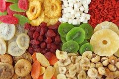 Mezcla de frutas secadas foto de archivo libre de regalías
