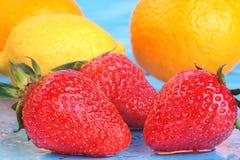 Mezcla de la fruta fresca Foto de archivo