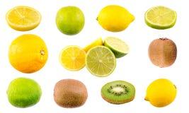 Mezcla de la fruta tropical fotografía de archivo libre de regalías