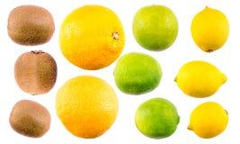 Mezcla de la fruta tropical fotos de archivo