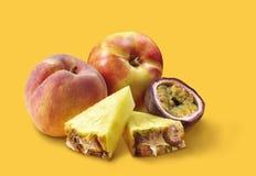 Mezcla de la fruta tropical foto de archivo