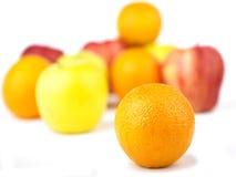 Mezcla de la naranja y de la fruta Imágenes de archivo libres de regalías
