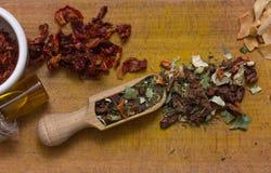 Mezcla de las especias Foto de archivo