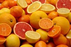 Mezcla de las frutas Foto de archivo libre de regalías