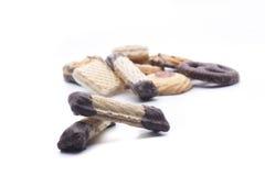 Mezcla de las galletas Imagen de archivo libre de regalías