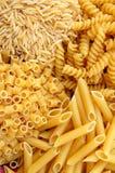 Mezcla de las pastas Imagen de archivo libre de regalías