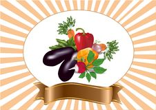 Mezcla de las verduras libre illustration