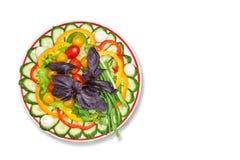 Mezcla de las verduras en la tabla Fotografía de archivo libre de regalías