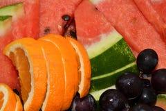 mezcla de limón de la fruta de las diapositivas Fotografía de archivo