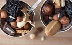 Mezcla de los frutos secos Fotos de archivo libres de regalías