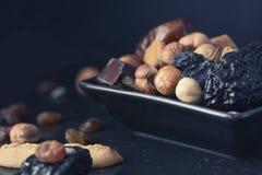 Mezcla de los frutos secos Imagen de archivo libre de regalías