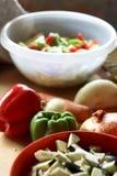 Mezcla de verduras frescas Foto de archivo libre de regalías
