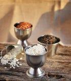 Mezcla del arroz Imagen de archivo libre de regalías