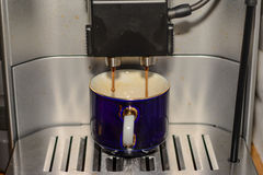 Mezcla del café express Foto de archivo libre de regalías