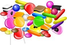 Mezcla del caramelo libre illustration