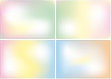 Mezcla del color en colores pastel, fondo Foto de archivo