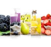 Mezcla del jugo de fruta Imagenes de archivo