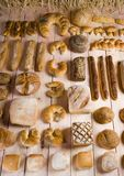 Mezcla del pan Foto de archivo libre de regalías