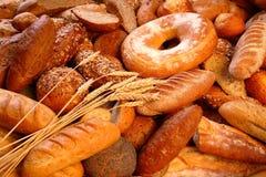 Mezcla del pan Imágenes de archivo libres de regalías
