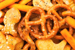 Mezcla del pretzel Imagen de archivo libre de regalías