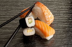 Mezcla del sushi Fotografía de archivo