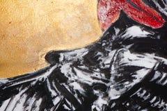 Mezcla dolida abstracta del ejemplo del grunge de la desolación de la lona imagen de archivo