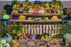 Mezcla fresca de la fruta y verdura fotografía de archivo libre de regalías