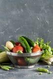 Mezcla fresca de verduras Foto de archivo